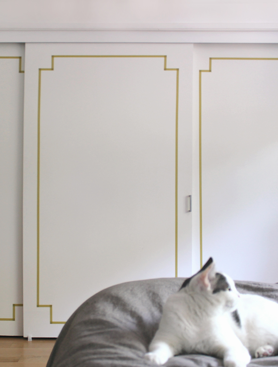 Diy Washi Taped Decorative Doors Almost Makes Perfect