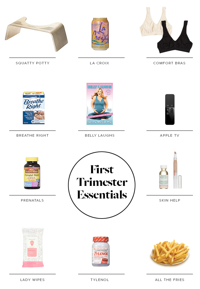 first trimester essentials | almost makes perfect
