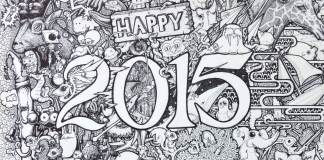 Happy 2015 by Paul Washington