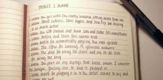 Things I Blame by Natalie Earhart