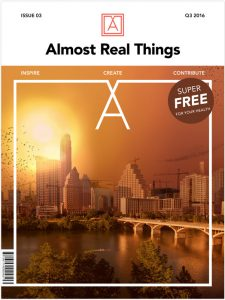 Almost Real Things Issue 03 Cover