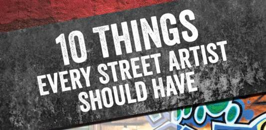 10 Things Every Street Artist Should Have by Zuzu Perkal and Random Direction