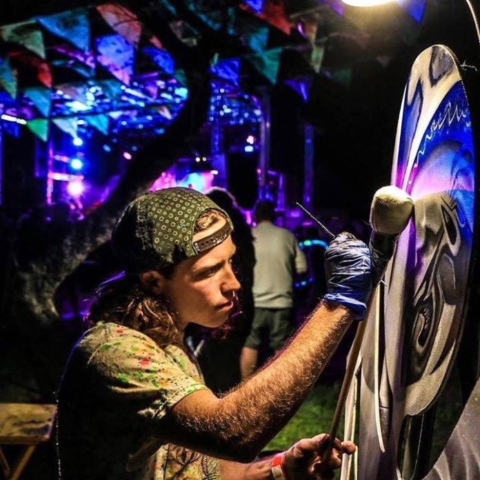 Gage Kelsey, Live Painter and Designer