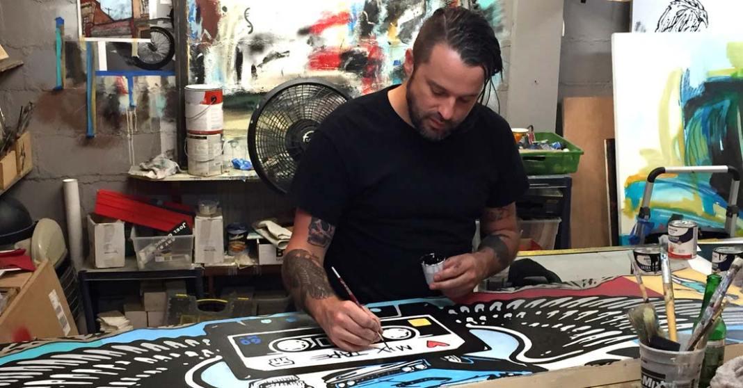 Inside Art Garage with Joel Ganucheau