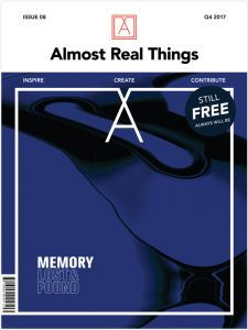 """Almost Real Things Issue 08 """"Memory"""" Cover"""