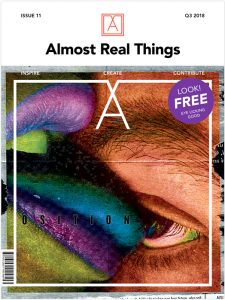 "Almost Real Things Issue 11: ""Juxtaposition"" Cover"