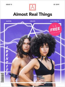 "Almost Real Things Issue 13 ""Identity"" Cover"