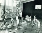 old school gym