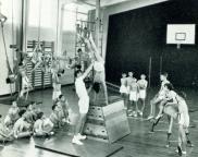 old school gym