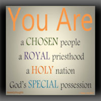 Chosen Race A Royal Priesthood A Holy Nation.