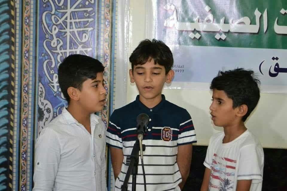 مجمع المبلغات الرساليات في المثنى  فرعي السماوة والخضر يختتم دوراته ويخرج 738 طالب