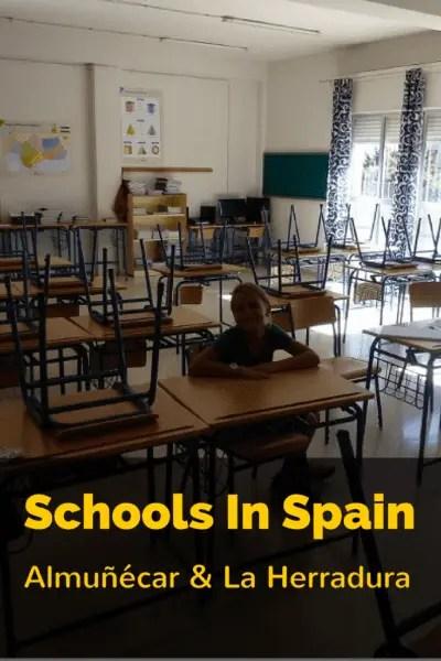 Schools in Almuñécar - La Herradura