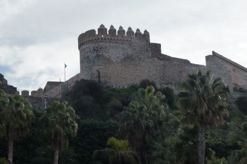 San Miguel Castle Almunecar Spain