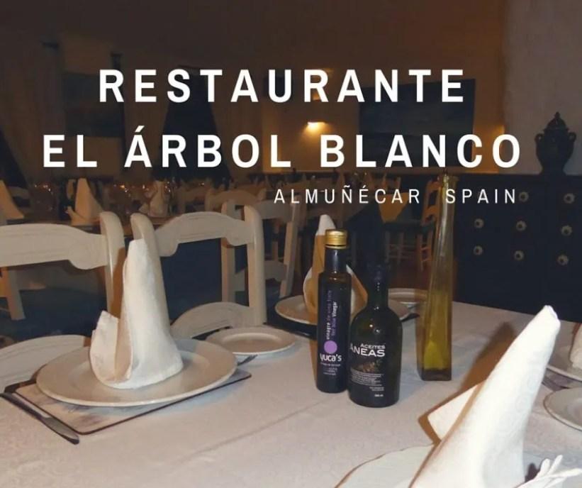 Restaurante El Arbol Blanco Almunecar cover