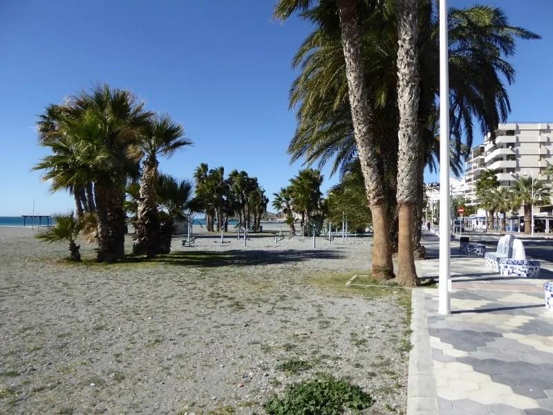 Almuñécar Playgrounds and Parks - Puerta del Mar Exercise Equipment