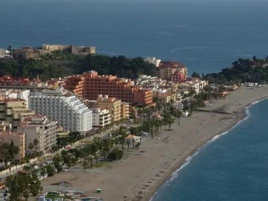 Almuñécar Hotel Helios in White & Almuñécar Playa Senator Spa Hotel in terracotta