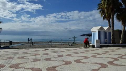 Almunecar exercise area San Cristobal