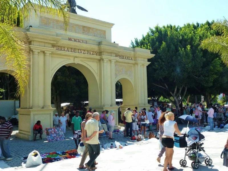 Blas Infante Arches Almunecar - Friday Market