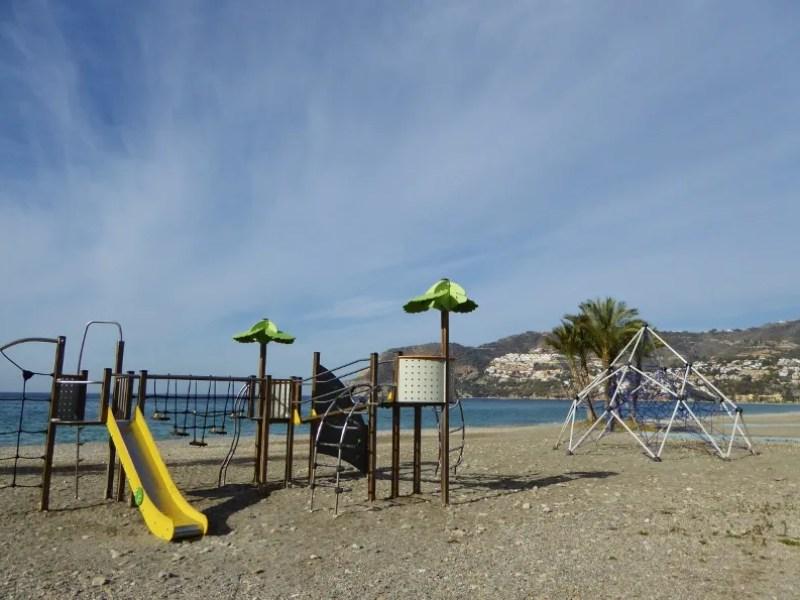 Playground La Herradura, read more on Almunecarinfo.com