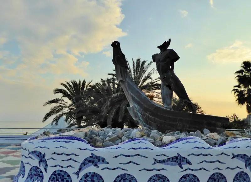 Paseo del Altillo - Monument to Phoenicians Almuñécar