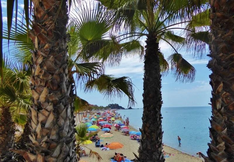 San Cristobal Beach view