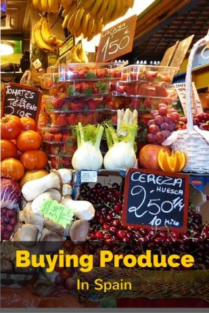 Buying Produce in Spain Markets vs Grocery Stores. This is something most people wouldn't even think to learn before visiting Spain. It isn't complicated, but there is a system to buying produce in the Spanish Markets, depending on where your are. Read more on AlmunecarInfo.com