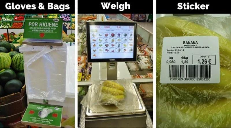 How to buy produce in Spain - Mercadona