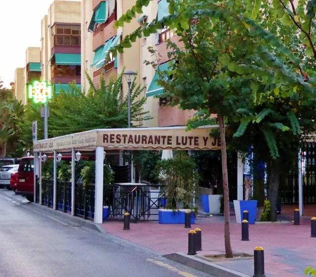 Restaurante Lute and Jesus Avenida Europa Almunecar