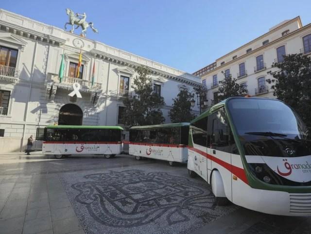 Granada hop on hop off train