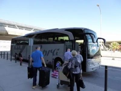 Alsa direct bus from Malaga airport to Almuñécar - supra economy