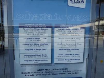 Malaga airport to Almuñécar
