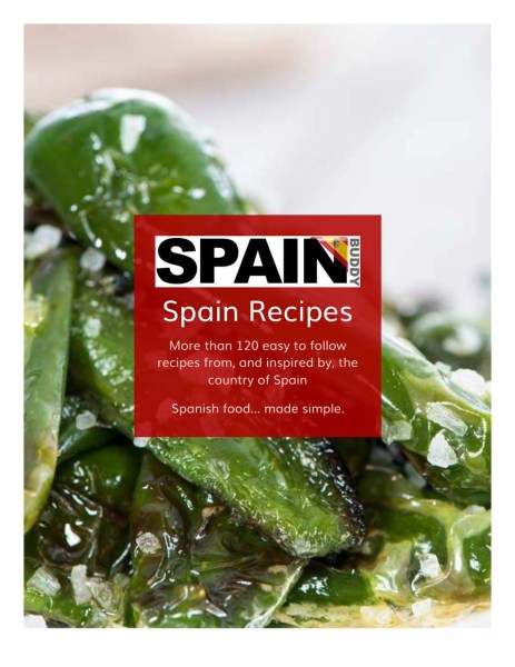 Spain Buddy Recipe book