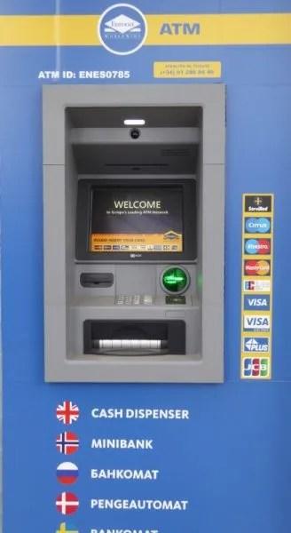 Almuñécar ATM Locations (including Velilla and La Herradura)