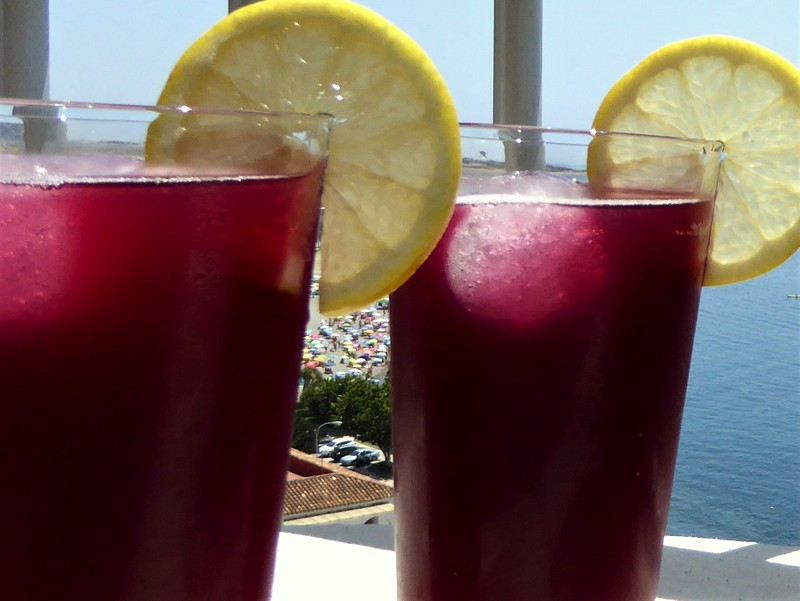 "Maria's Tinto de Verano is the perfect refreshment for those hot summer days. It's a refreshing wine-based cocktail, which translates as ""summer red wine""."