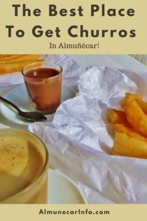 The Best Place To Get Churros In Almuñécar! We share a churros recipe too! Read more on AlmunecarInfo.com