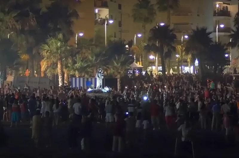 Fiesta Virgen del Carmen 2018 Patrona de Los Marinos Almunecar