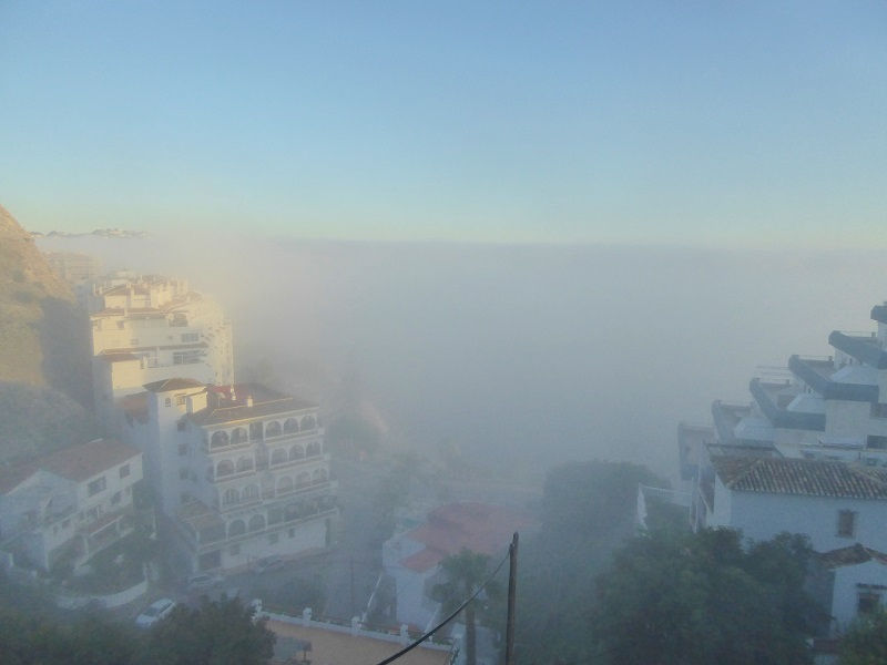 foggy view san cristobal almunecar feb 2016