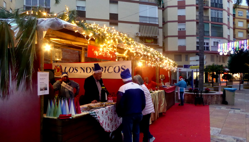 Christmas markets by the foreign residents