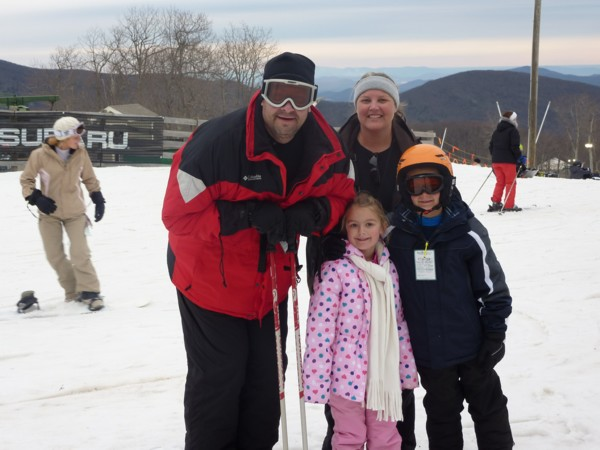 Take the family to ski in the Sierra Nevada