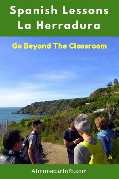 Spanish lessons La Herradura, Spain. Go beyond the classroom! Centro El Mar offers more than standard lessons, with cultural workshops, field trips, conversation and immersion. Read more on Almunecarinfo.com