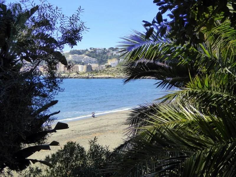 Almunecar Mediterranean Park - Calabajio Beach