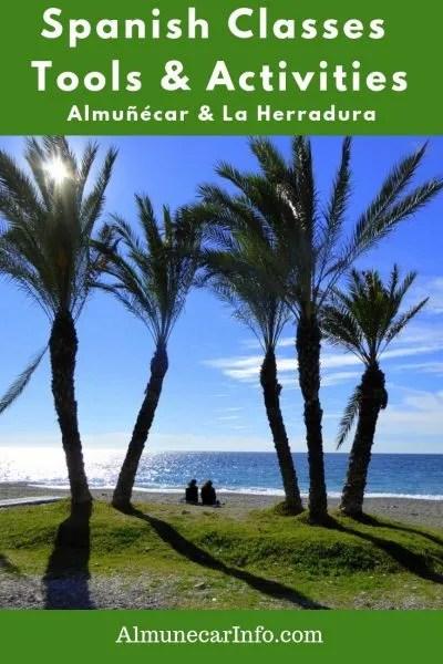 Almuñécar & La Herradura Spanish Classes, Tools & Activities