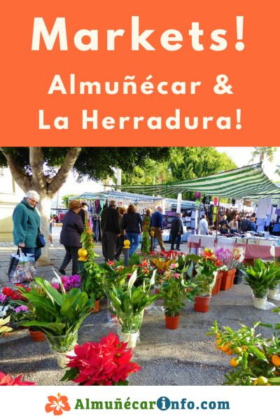 Almunecar Markets & La Herradura Markets - There are outdoor markets and indoor markets for you as well.  You should enjoy all of the options available to you. Read more on Almunecarinfo.com