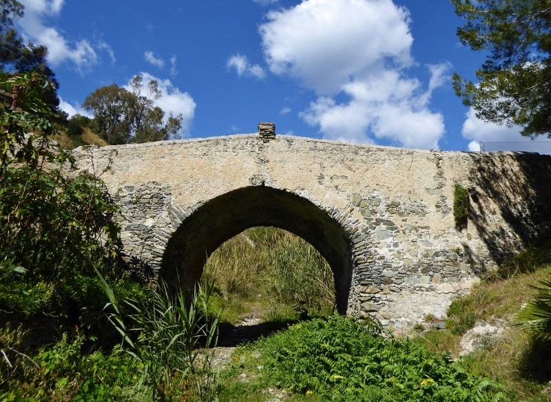 Almunecar-Spain-Roman-Bridge-of-Cotobro