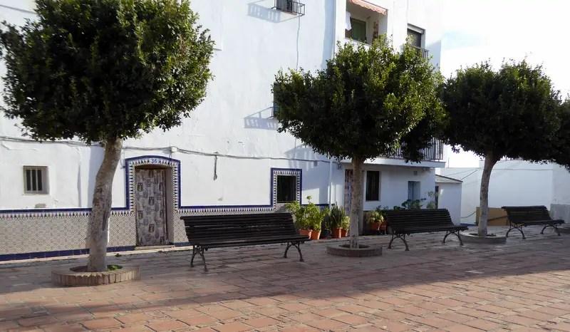 Barrio San Miguel Plaza Eras del Castillo Old Town Almunecar