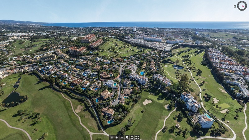 Helicopter tour costa del sol