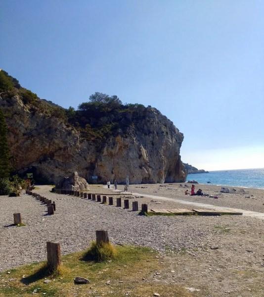 Almuñecar Playa Cantarriján (Cantarriján Beach) Naturist / Nude Beach