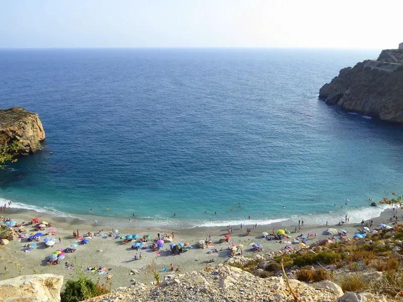 Playa la Rijana Costa Tropical