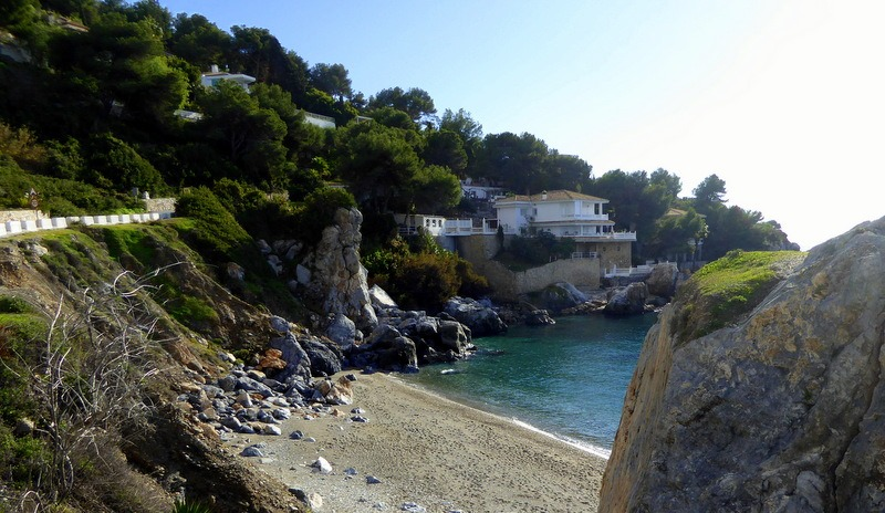 La Herradura secluded cove instagram
