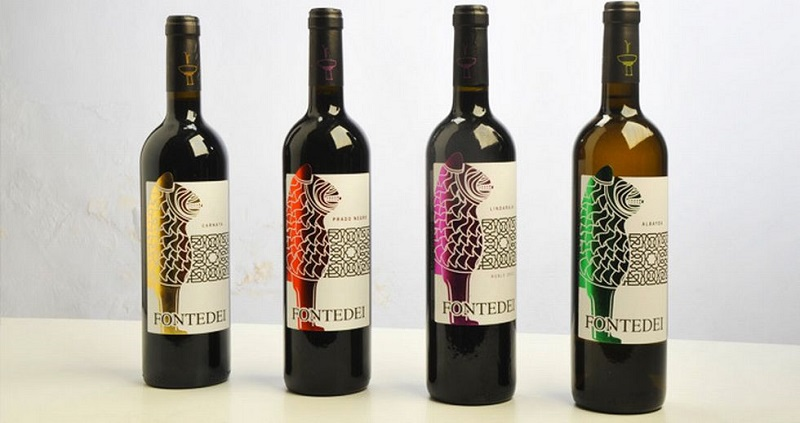 Bodegas Fontedei was the frist commercial company which got a permission from the authorities to use one of the main symbols from La Alhambra in their marketing. They chose to have the Lion on their wine labels.